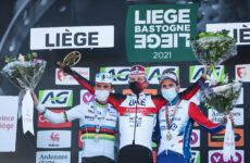 Liège-Bastogne-Liège 2021 pódium