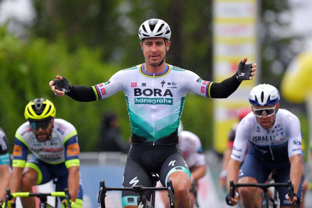 Peter Sagan 1. etapa Okolo Romandie 2021