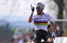 Julian Alaphilippe 1. etapa Tour de France 2021