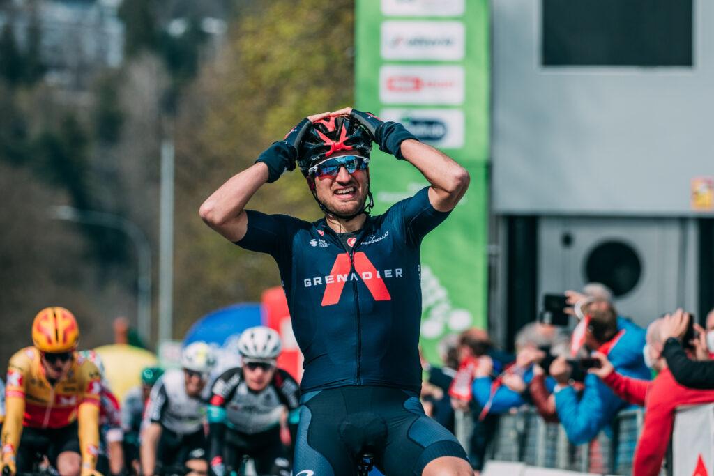 Gianni Moscon 1. etapa Okolo Álp 2021