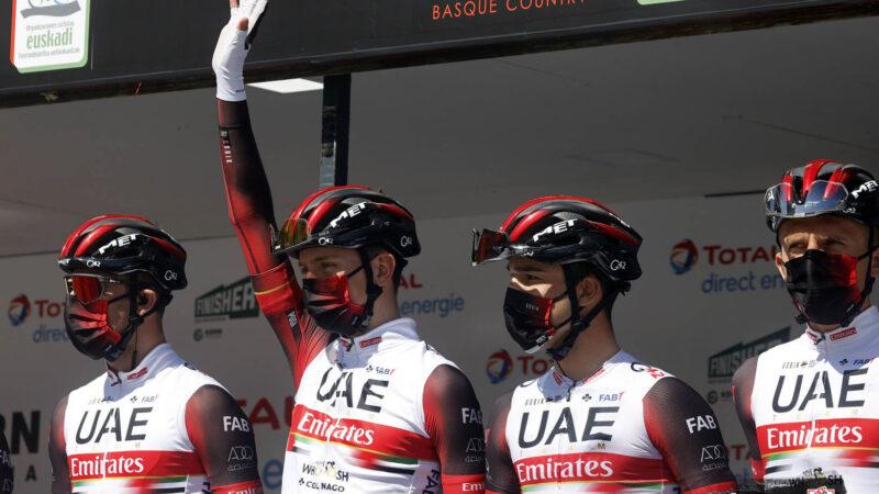 UAE Team Emirates Tadej Pogačar Valónsky šíp 2021