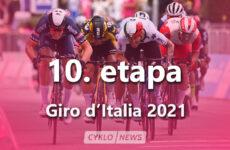 10. etapa Giro d'Italia 2021