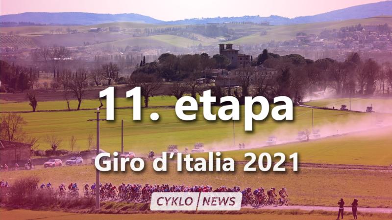 11. etapa Giro d'Italia 2021