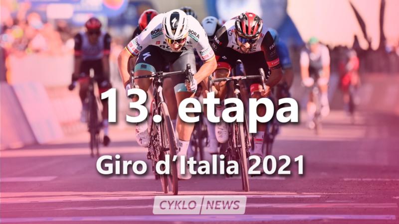 13. etapa Giro d'Italia 2021