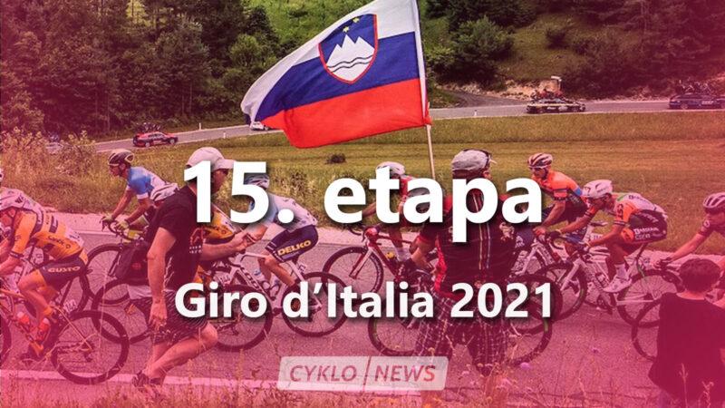 15. etapa Giro d'Italia 2021