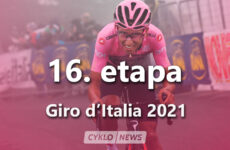 16. etapa Giro d'Italia 2021