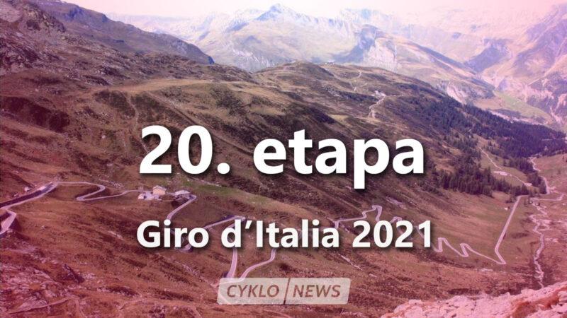 20. etapa Giro d'Italia 2021
