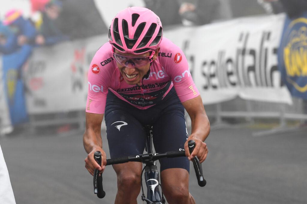 Egan Bernal 16. etapa Giro d'Italia 2021