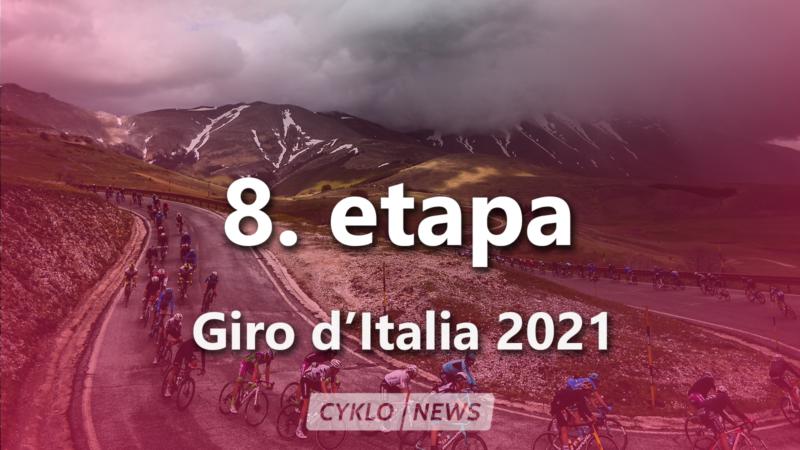 8. etapa Giro d'Italia 2021