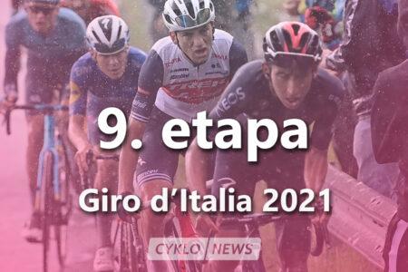 9. etapa Giro d'Italia 2021