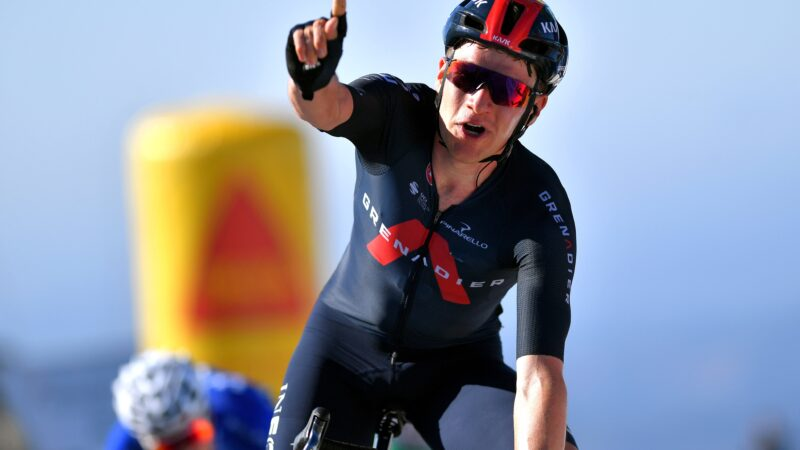 Ethan Hayter 2. etapa Okolo Algarve 2021