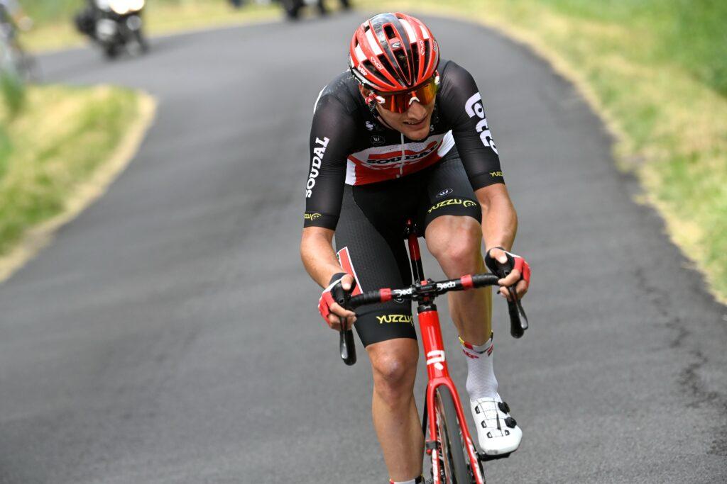 Brent Van Moer 1. etapa Critérium du Dauphiné 2021
