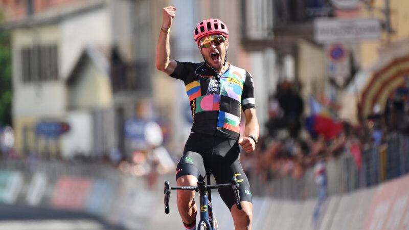 Alberto Bettiol 18. etapa Giro d'Italia 2021