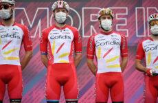 Team Cofidis Giro 8 etapa