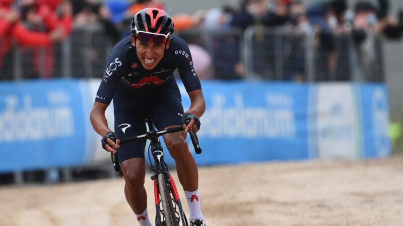 Egan Bernal 9. etapa Giro d'Italia 2021