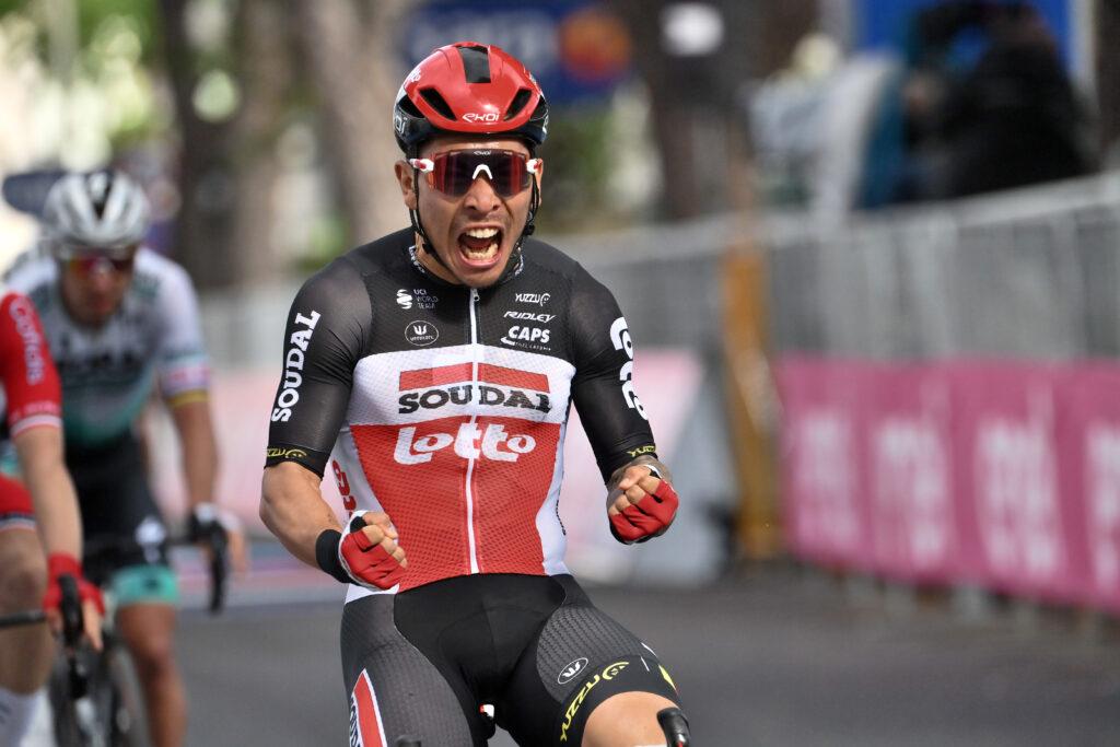 Tour de France 2021 zelený dres Caleb Ewan