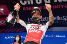 Caleb Ewan po 5. etape Gira