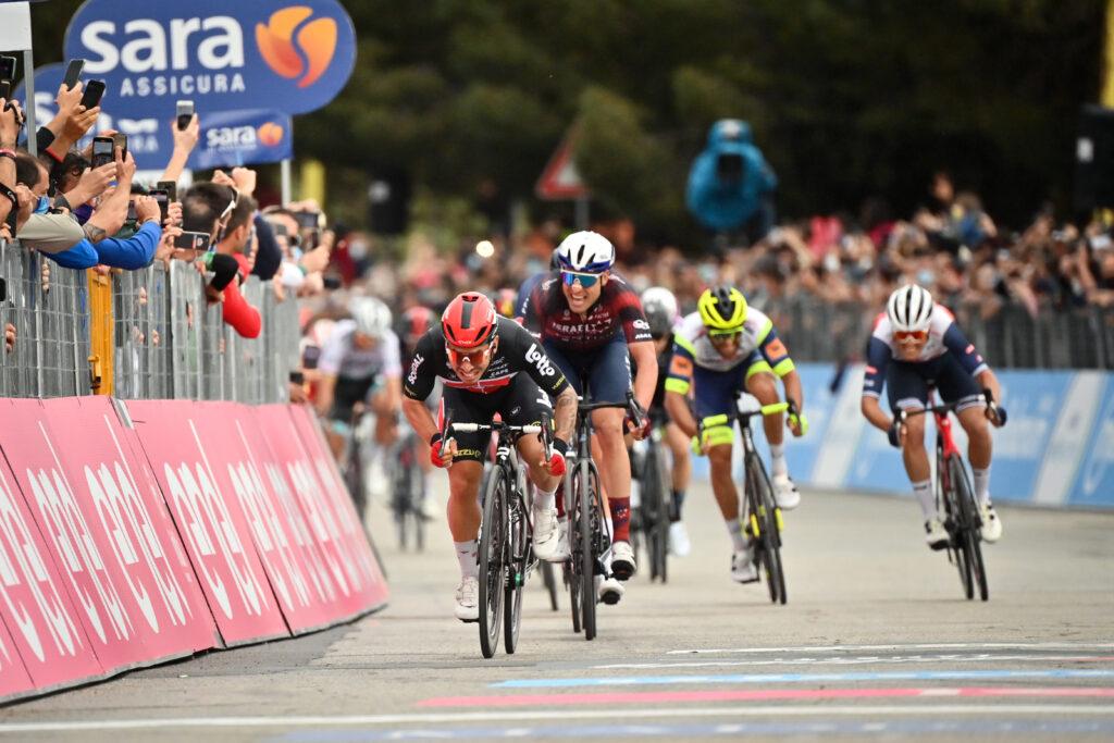 7. etapa Giro d'Italia 2021 šprint