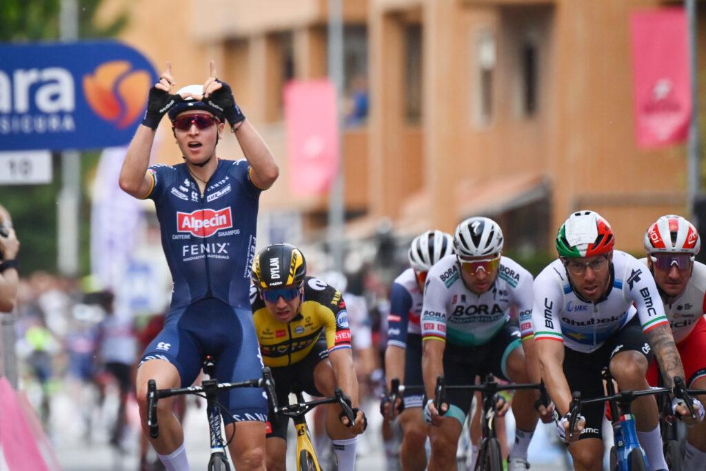 Giro d'Italia 2021 2. etapa Tim Merlier