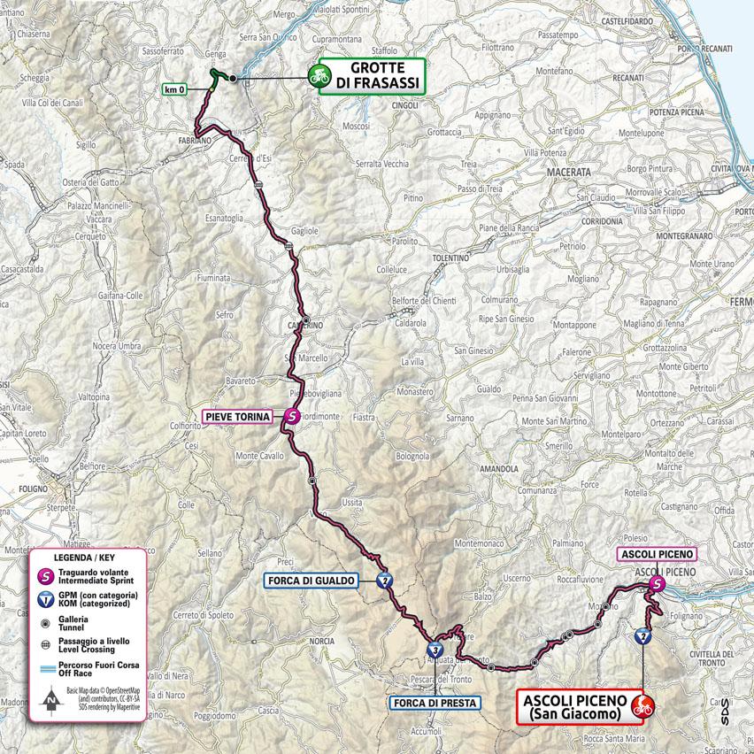 6. etapa Giro d'Italia 2021