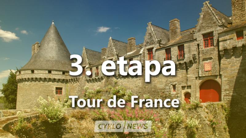 3. etapa Tour de France 2021