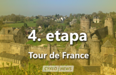 4. etapa Tour de France 2021