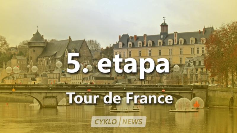 5. etapa Tour de France 2021