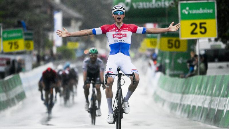 Mathieu van der Poel MS v cyklistike 2021