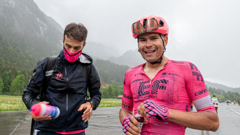 Stefan Bissegger 4. etapa Okolo Švajčiarska 2021