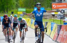 Alejandro Valverde 6. etapa Critérium du Dauphiné 2021