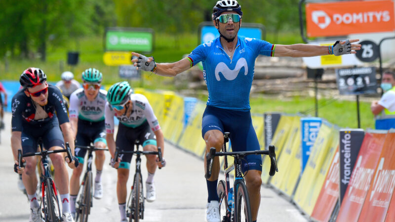 Alejandro Valverde Vuelta 2021