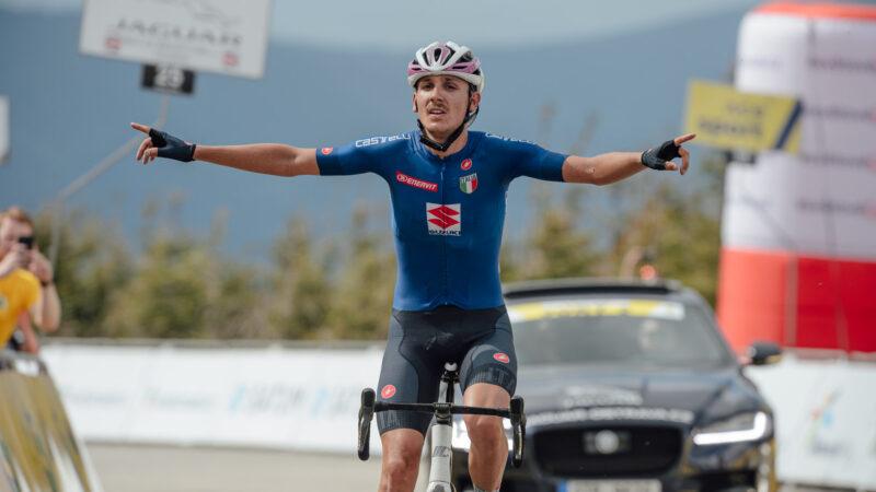 Filippo Zana 2. etapa Závod míru U23 2021