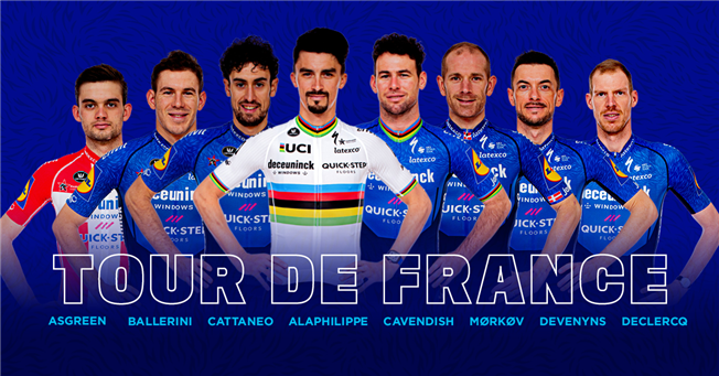Deceuninck - Quick-Step Tour de France 2021