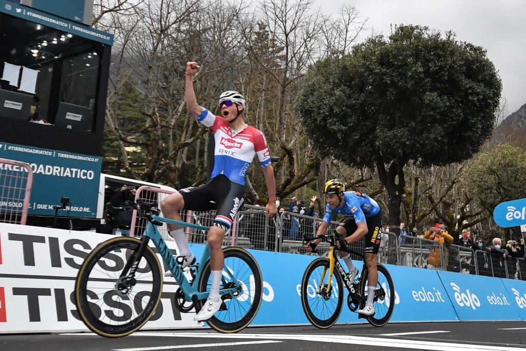 Mathieu van der Poel 1. stage Tour de France 2021