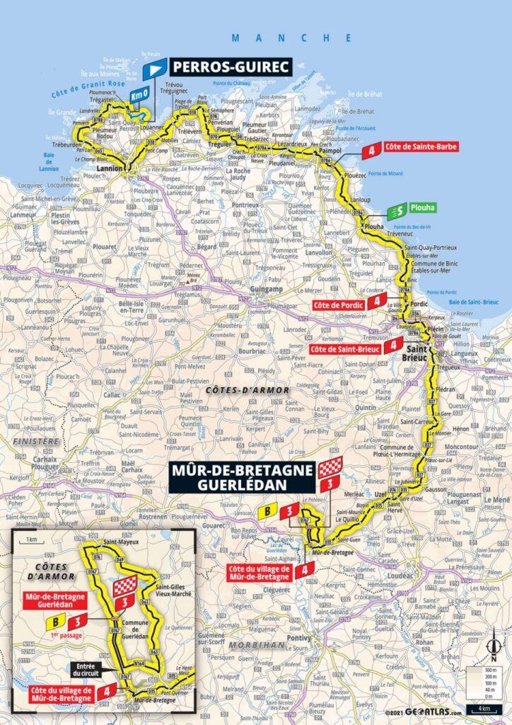 2.etapa Tour de France 2021