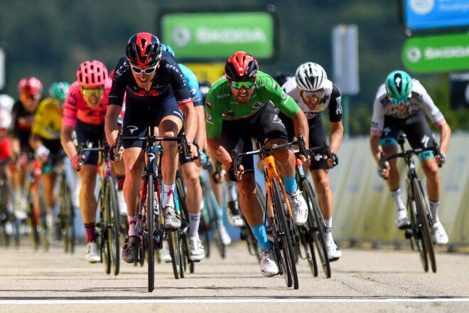 Colbrelli Geraint Thomas 5. etapa Criterium du Dauphine 2021