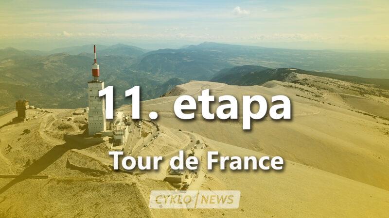 11. etapa Tour de France 2021