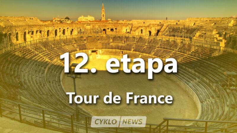 12. etapa Tour de France 2021 TdF