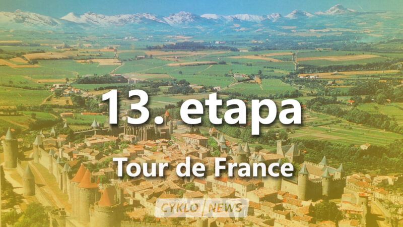 13. etapa Tour de France 2021