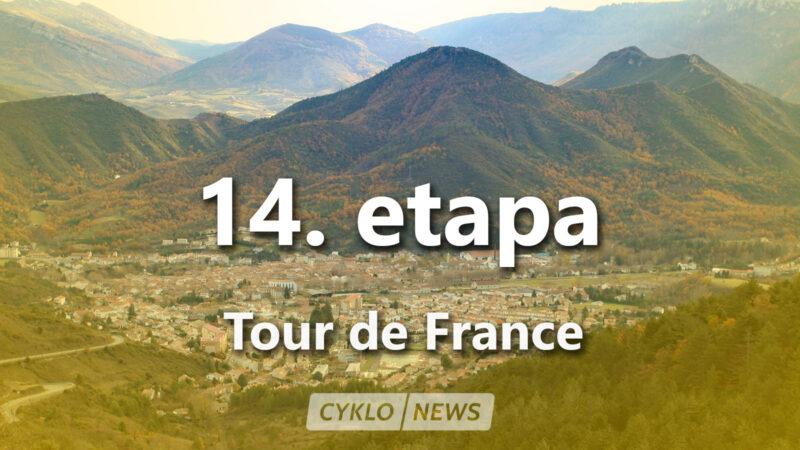 14. etapa Tour de France 2021 TdF