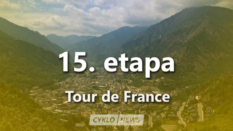 15. etapa Tour de France 2021
