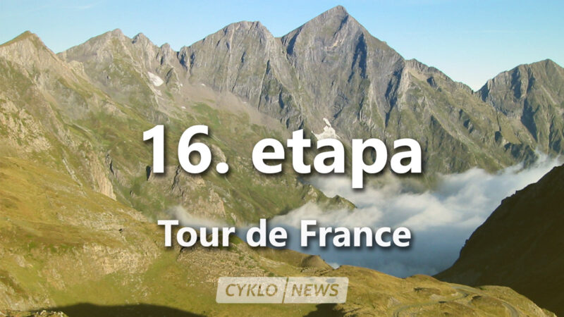 16. etapa Tour de France 2021