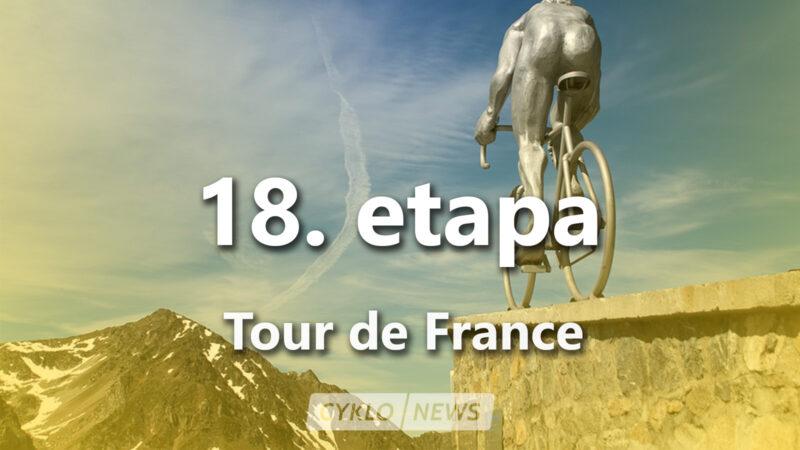 18. etapa Tour de France 2021 TdF