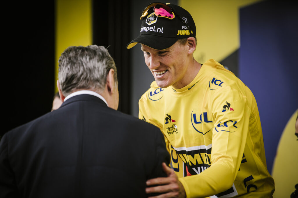 Mike Teunissen na TdF '19