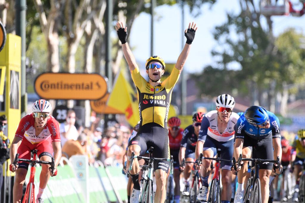 Wout van Aert 7. etapa Tour de France 2020