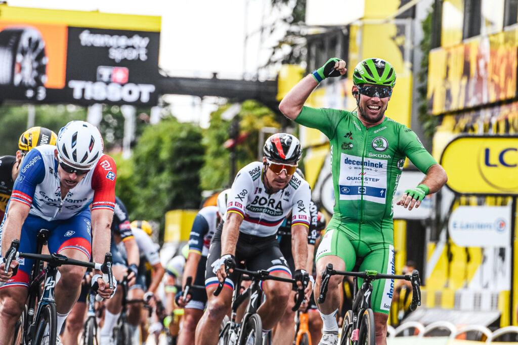 Mark Cavendish 10. etapa Tour de France 2021 TdF