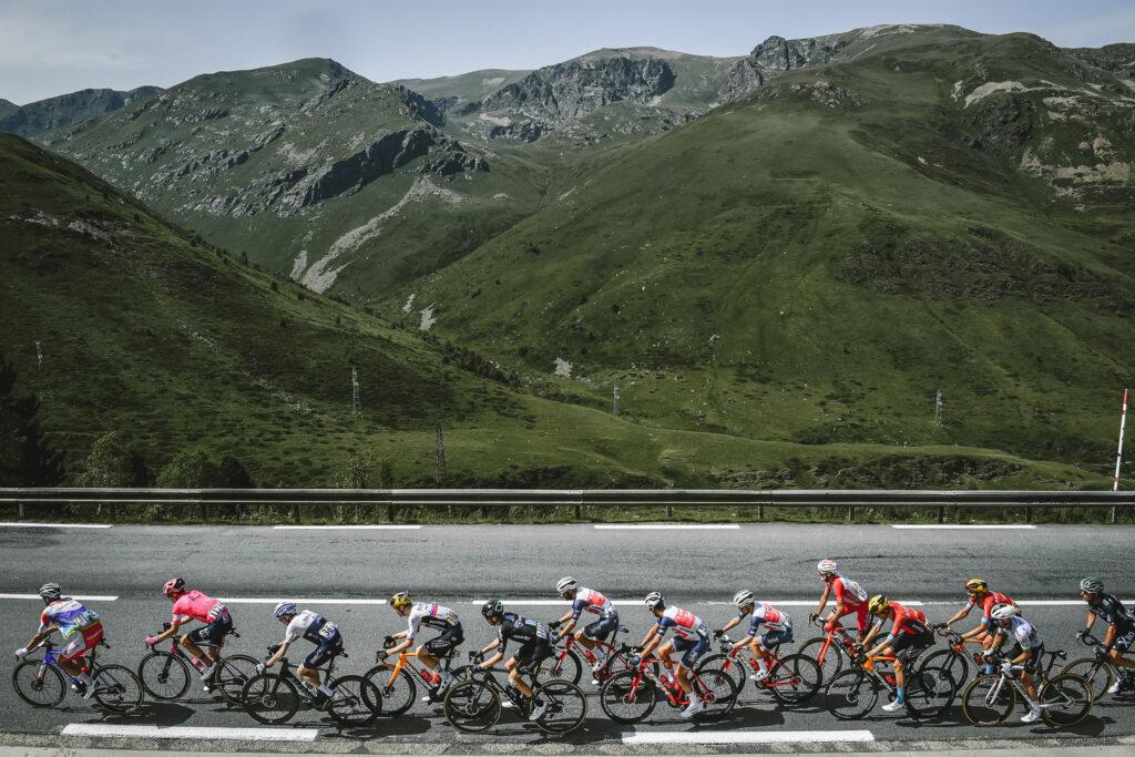 Únik v 15. etape Tour de France.