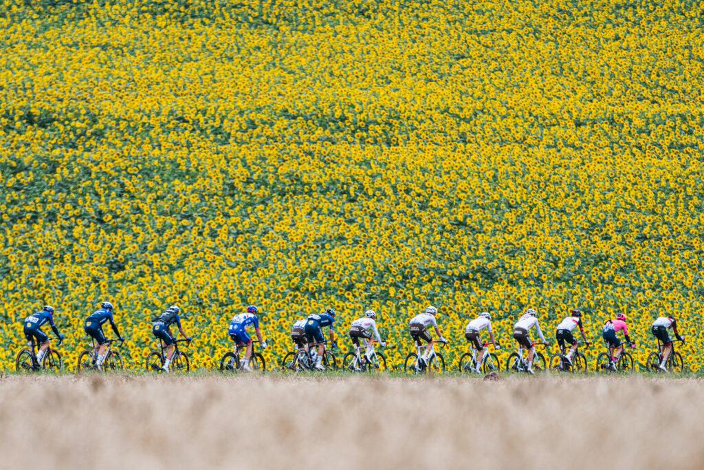 Pelotón 17. etapa Tour de France 2021