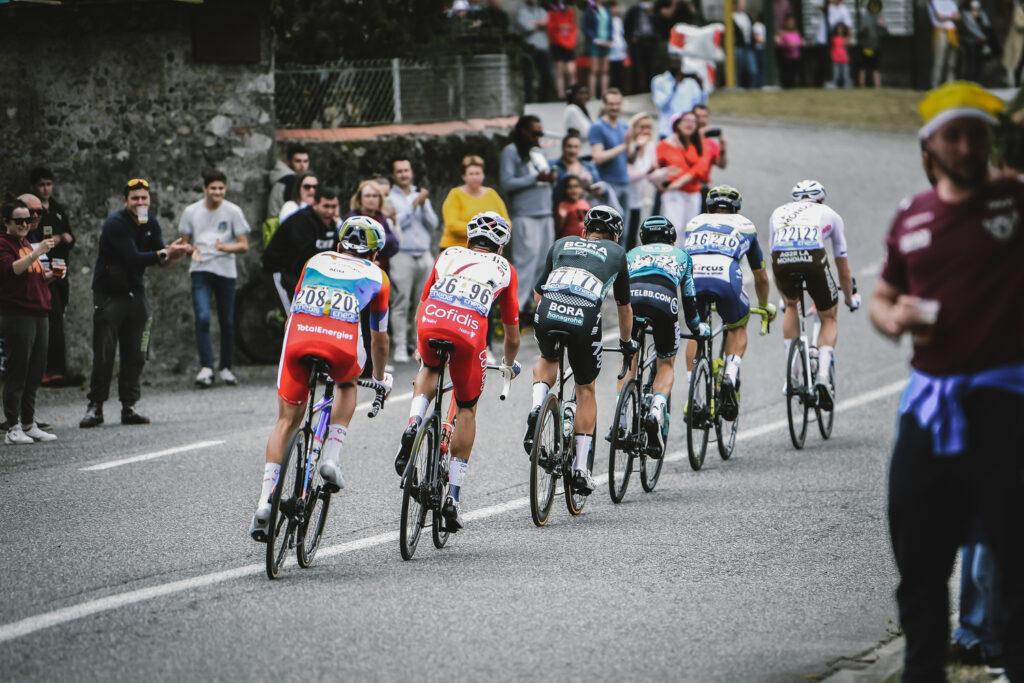 Únik počas 17. etapy TdF