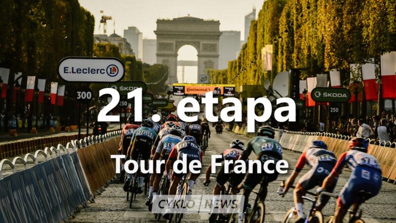 21. etapa Tour de France 2021